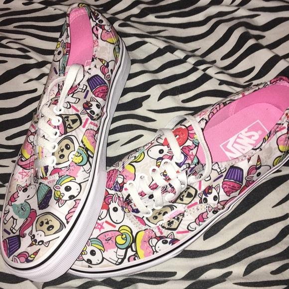 Vans Shoes | Unicorn Doughnut Vans